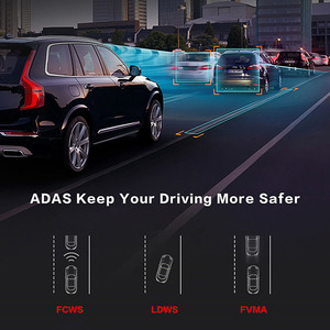 "Image 4 - Phisung E06 4G Auto DVR 7.84 ""Touch ADAS Remote Monitor achteruitkijkspiegel met DVR en camera Android dual lens 1080P WIFI dashcam"