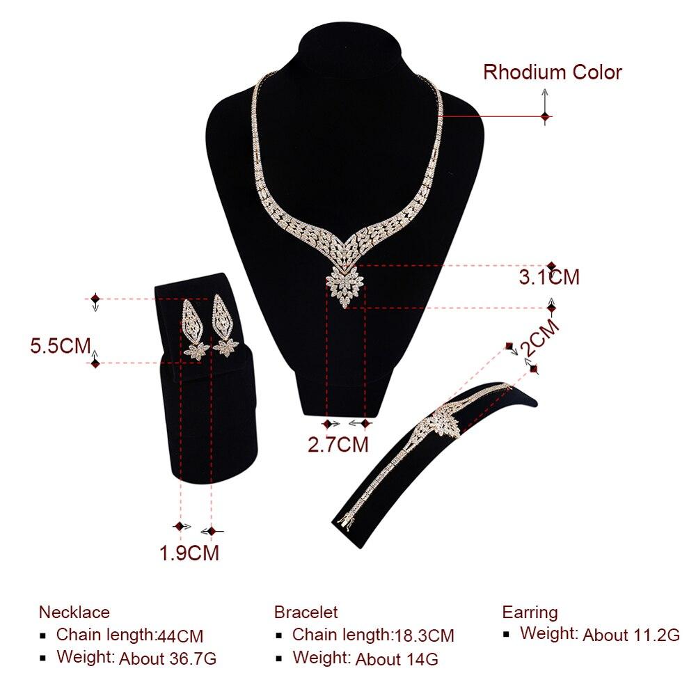 Sistemas de la joyería fina de la boda para las mujeres Exclusivo - Bisutería - foto 5