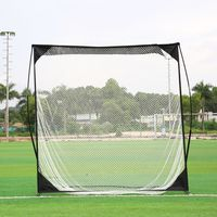 Good! Outdoor Sport 2018 Adult Golf Practice Net Professional Golf Cage Golf Trainer Golf Training Aids Rn