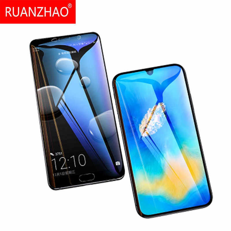 3D 9H Rand Screen Protector Glas für Huawei P10 P20 Pro volle abdeckung schutz glas für honor 10 P30 Pro film P20 lite P30 lite