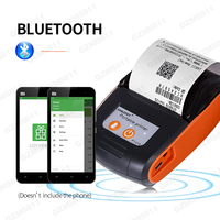 58mm Thermal Protable Mini Wireless Mobile Receipt Printer For Android Handheld Bill Thermal Bluetooth Printer Support ESC / POS