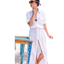 B287 Hot sale white casual summer dress new fashion adjustable sleeve long style sexy women summer dress hot sale sexy dresses
