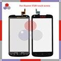 """Высокое качество 4.5 """"Для Huawei Ascend Y520 Сенсорный Экран Датчик Дигитайзер Переднее Стекло Объектива панель Черный Белый"""