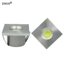 ZINUO 10pcs/Lot Mini COB 3W Led Downlight Recessed Cabinet Spot light Jewelry exhibition Display Counter lamp AC110V 220V