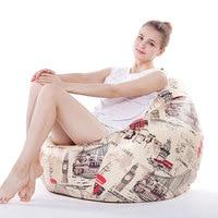 Modern Beanbag Sofa Living Room Furniture Sofas Bean Bag Chair For Living Room Fashion Leisure Styrofoam