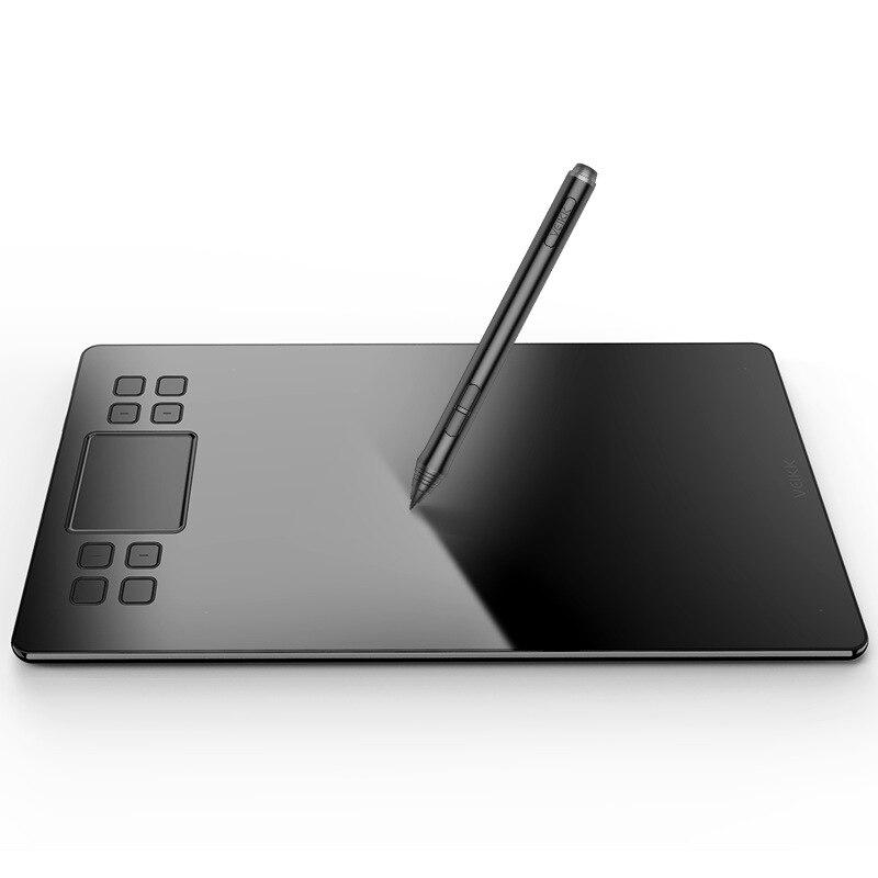 VEIKK 10x6 pouces tablette de dessin numérique Ultra-mince 5080LPI graphique numérique professionnel stylo tablettes Art planche à dessin
