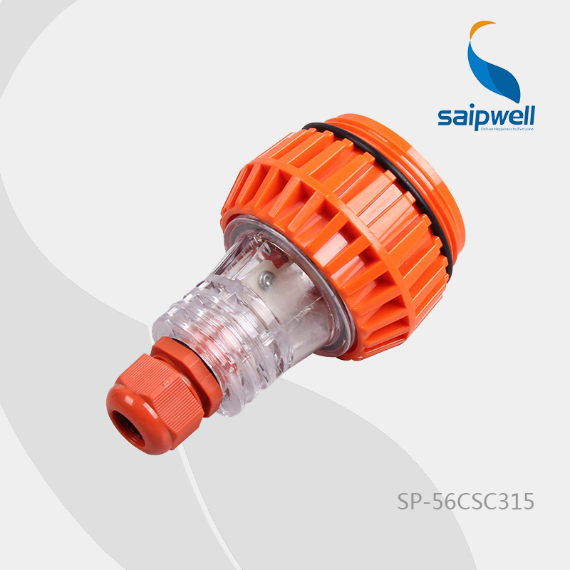 IP66 250V 15A 3P Saip/Saipwell High Quality Appliance Connector  European/Australian Industrial Socket (SP-56CSC315)