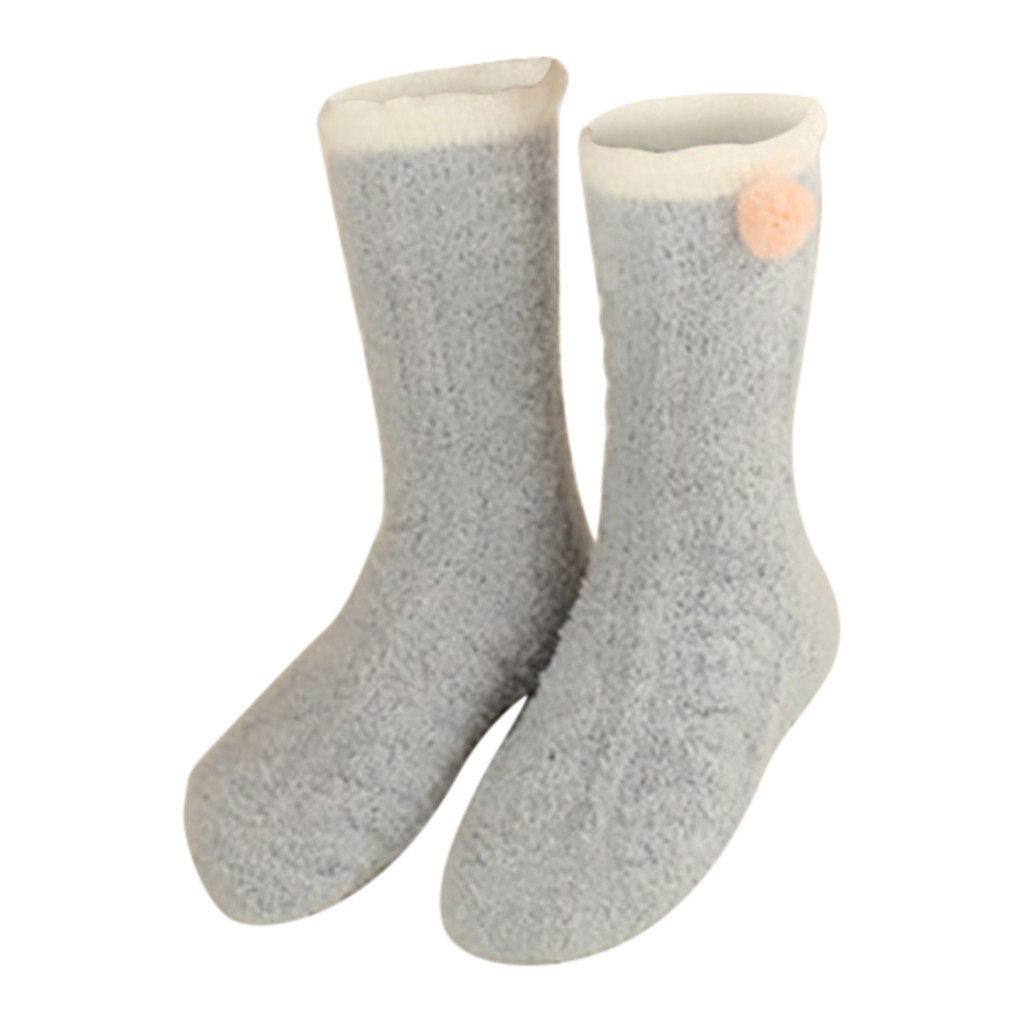 1457f34670c3d US $1.81 48% OFF|JAYCOSIN 1 Pair Hot High Quality Winter Ladies Warm Sleep  Socks Towel Socks Floor Socks Balls Coral Fleece Socks Women New-in Socks  ...