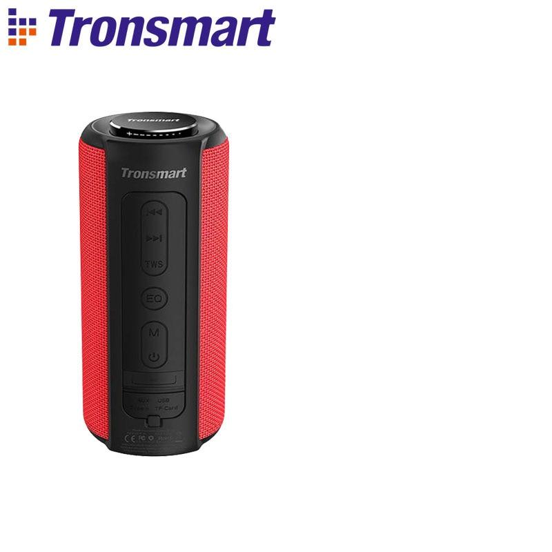 Tronsmart T6 Plus Bluetooth динамик до 40 Вт беспроводной Саундбар Bluetooth 5,0 IPX6 Водонепроницаемый динамик TWS для Iphone, Xiaomi - Цвет: Red