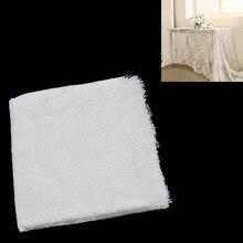 Lychee Life blanco Encaje Vintage mantel decoración fiesta en casa boda, cocina mesa de comedor de la torre de la mesa cubierta de tela