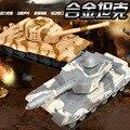 Juguetes de los niños, 1:32 de aleación modelo de tanque, Tire Hacia Atrás del tanque Militar modelo, tanques Oruga puede deslizarse