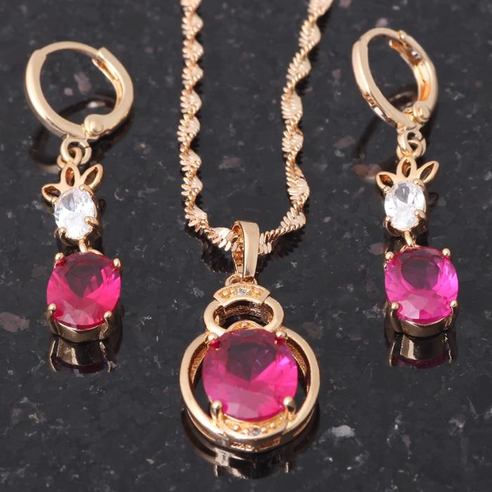 Charmant Femmes Bijoux Mystic Black Topaz Gems Silver Boucles d/'oreilles et colliers Set