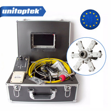 Pipe Inspection Camera 20M Cable 7 inch TFT LCD Monitor Aluminum Case System Built in DVR Borescope Pipe Sewer Camera