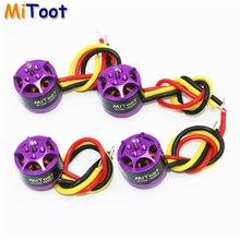 Register shipping 4pcs lot Mitoot R1106 7500KV Metal Brushless Motor Kit for 60 70 80 90