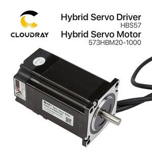 Image 3 - Cloudray Leadshine HBS57 + 573HBM20 1000 HBS507 nema23 3 fase híbrida Servo de ciclo cerrado