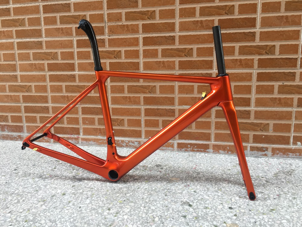 Twaiwan made T1000 fasterway disc brake version O2 carbon road frame:carbon Frame+Seatpost+Fork+Clamp+Headset,ems free shipping