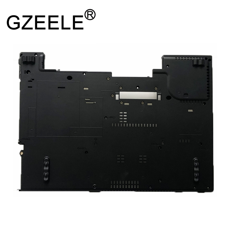 GZEELE NEW FOR Lenovo for ThinkPad R400 T400 Bottom Case Base case lower cover Plastic Chassis 42X4833 gzeele bottom case for lenovo for thinkpad t420s t430s t430si bottom lower case base cover 04w1702
