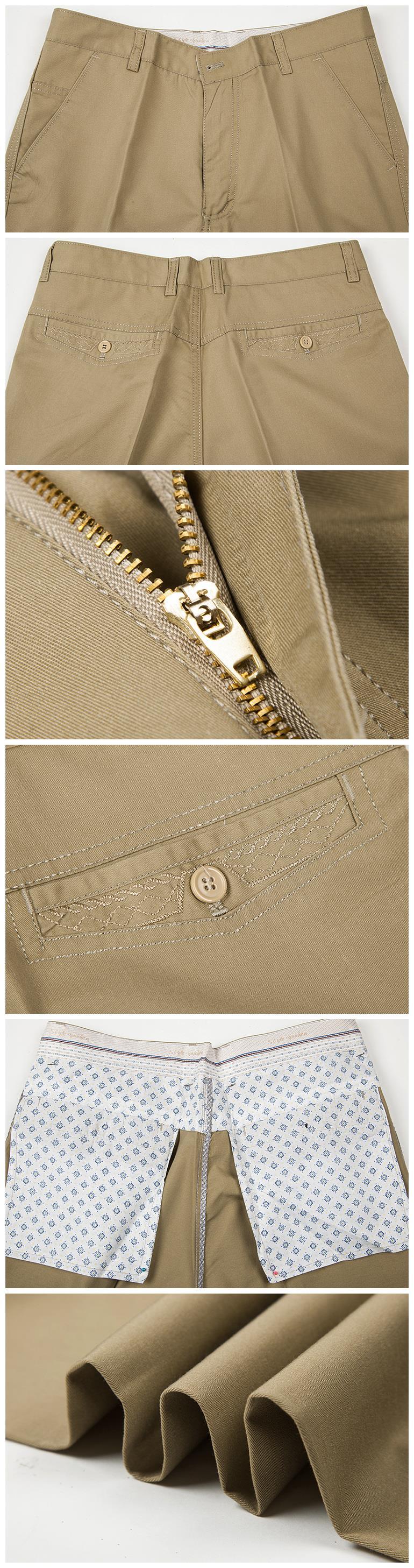 HTB18NKldeALL1JjSZFjq6ysqXXae Pants Men Size29-42 Spring Autumn Straight Pant 100% Cotton 55-120 kg Men Wear Comfortable warm Trousers Male Clothing