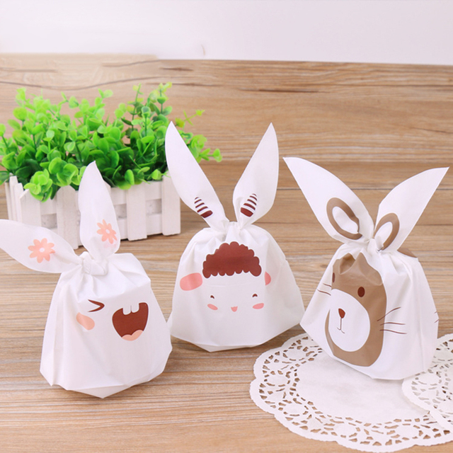 50pcs plastic easter rabbit ear cookie bags 138x22cm wedding gifts 50pcs plastic easter rabbit ear cookie bags 138x22cm wedding gifts for guests bunny duck gift negle Gallery
