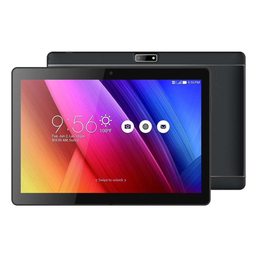 10.1 inch 3G Phone Call Tablet MT6580 Android 6.0 800*1280 IPS HD Touch Screen Narrow Border 1GB 16GB Dual SIM Tablet GPS OTG 10 s6 5 ips hd mtk6589 smartphone 1gb 16gb 13 0mp android 4 2 3g gps