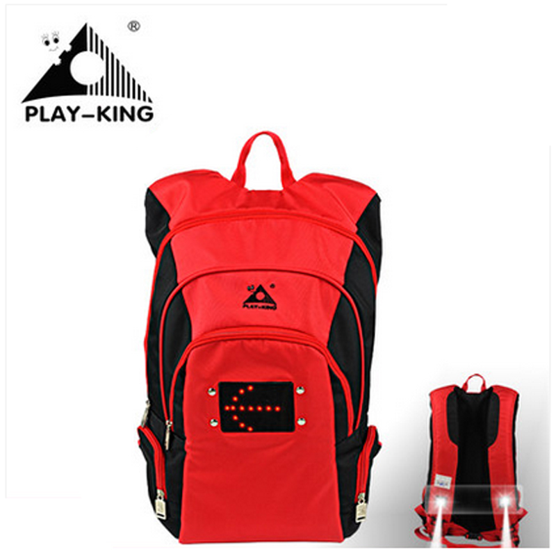 PLAYKING сумка для спорта на открытом воздухе, велосипедная сумка, рюкзак с сигналом поворота, светильник для кемпинга, туризма, велоспорта, сту...
