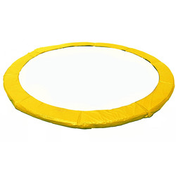 BUNTE Gelb Trampolin Ersatz, Sicherheit Pad (PVC Wasserdichte Frühling Abdeckung) für 6/8/10/12/13/14/15/16 Füße Trampolin