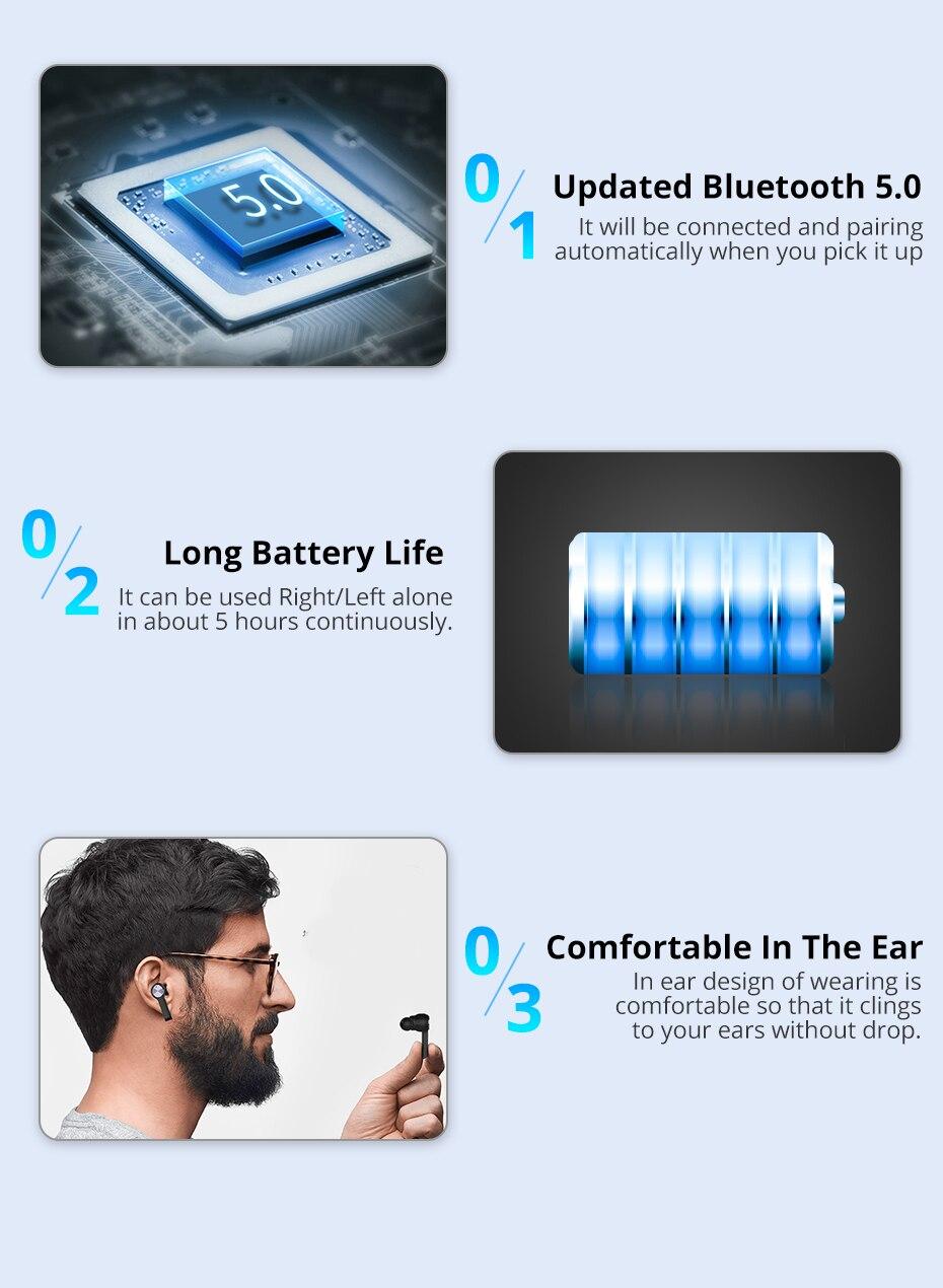 langsdom TWS bluetooth earphone for phone wireless  (5)