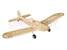 Träning Flygplan Astro Junior 1380mmWingspan Laser Cut Balsa Kit (För Gaskraft och Elkraft) Woodiness Modell / Träplan