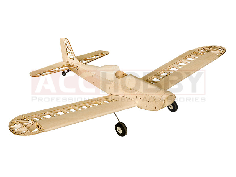 Training Airplane Astro Junior 1380mmWingspan Laser Cut Balsa Kit ( For Gas Power and Electric Power) Woodiness model /WOOD PLAN