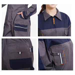 Image 5 - Men Women Overalls Labor protective Work clothing Dust proof Comfortable Breathable Machine Auto repair Long sleeve Coveralls