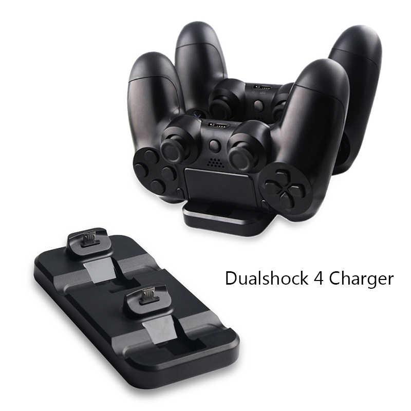15 в 1 для PS4 аксессуары Play Station 4 Slim/Pro вертикальная подставка джойстик Стикеры контроллер случае захвата большой палец зарядное устройство и кабель