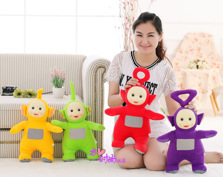 4ชิ้นจำนวนมากกลางความคิดสร้างสรรค์ที่น่ารักเทเลทับบีของเล่นตุ๊กตาที่แตกต่างกันตุ๊กตาของที่ระลึกเกี่ยวกับ35เซนติเมตร0599-ใน ตุ๊กตาสัตว์และตุ๊กตาผ้ากำมะหยี่ จาก ของเล่นและงานอดิเรก บน   1