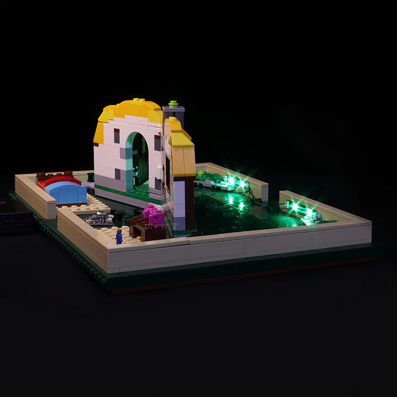 Lego 21315 Led Light Set series Brick Magic Folding Stereo Book Building Blocks Creator Toys Gifts brickkits (Only lights)
