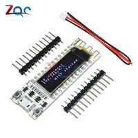 0.91'' ESP8266 WIFI Chip 0.91 inch OLED CP2014 32Mb Flash ESP 8266 Module Internet of things Board PCB NodeMcu for Arduino IOT