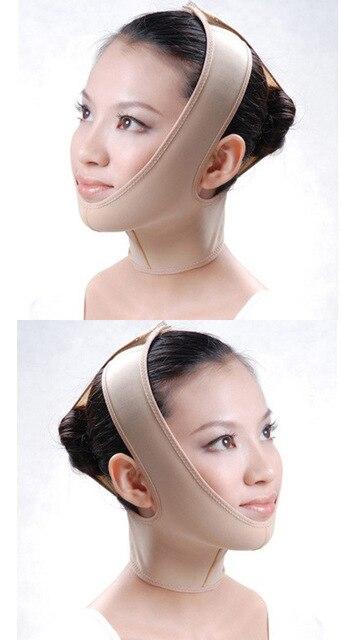 Facial Slim Up Belt 3D V Face Slimming Mask Massage Relaxtion  Lifting Chin Thin Cheek Sauna Bandage Beauty Health Care Tool 5