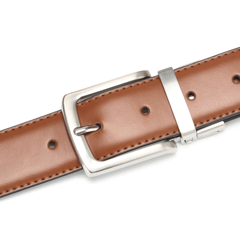 El Barco High Quality Cowskin Leather Men Belt Black Brown Casual Male Belts Luxury Design Pin Buckle Strap Cinturon Size 125cm Volume Large Back To Search Resultsapparel Accessories