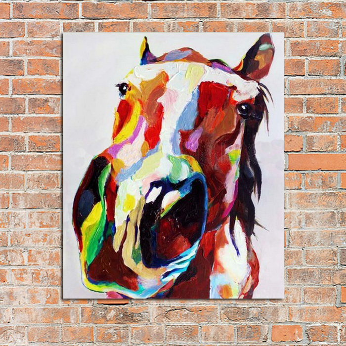 Hand Painted Horses