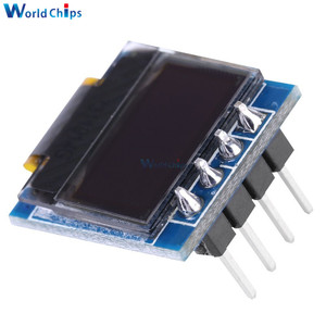 """Image 3 - diymore White 0.49 inch OLED Display Module 64x32 SSD1306 0.49"""" Screen I2C IIC Super Bright for Arduino AVR STM32"""