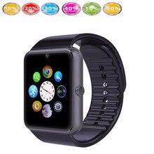 font b Smart b font Watch gt08 smartwatch Passometer answer call Message Reminder TF card