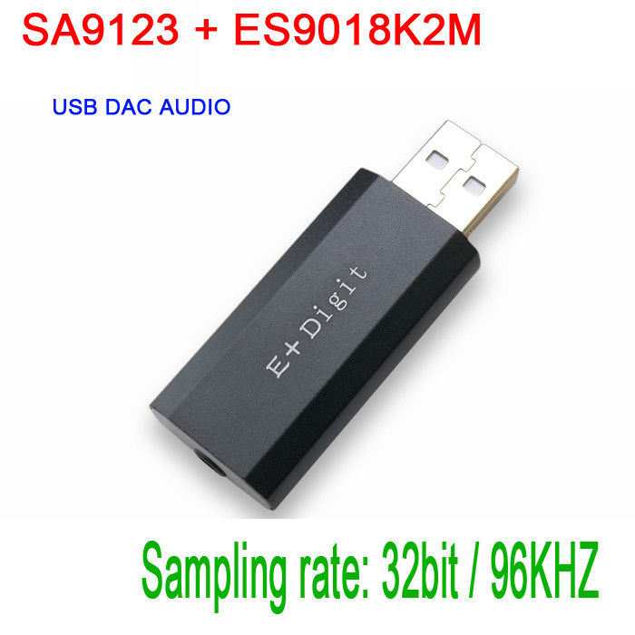 SA9123 + ES9018K2M USB DAC Audio HiFi PC Sound Card Headphone Amp Amplifier decoder USB external  sound card Звуковая карта