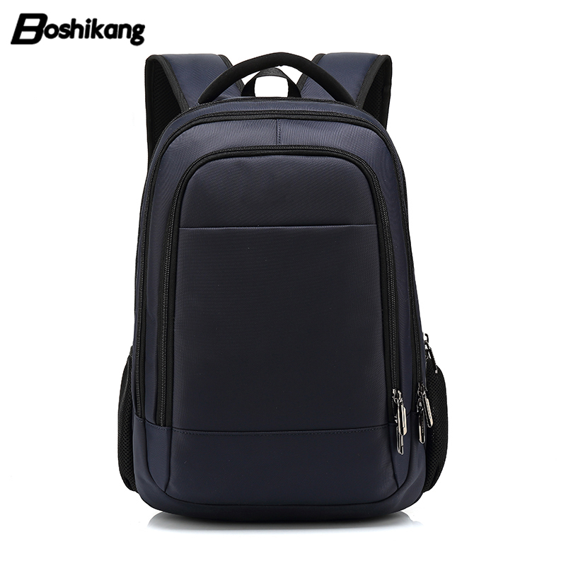 Boshikang Multifunction Men Backpack USB Charging Business 15 6inch Laptop Travel Bag Waterproof Men womens School