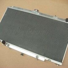 Полностью алюминиевый сплав радиатор 3 ряда для Nissan Patrol Y61 GU 2,8/3,0 TD 97-01 авто AT/MT
