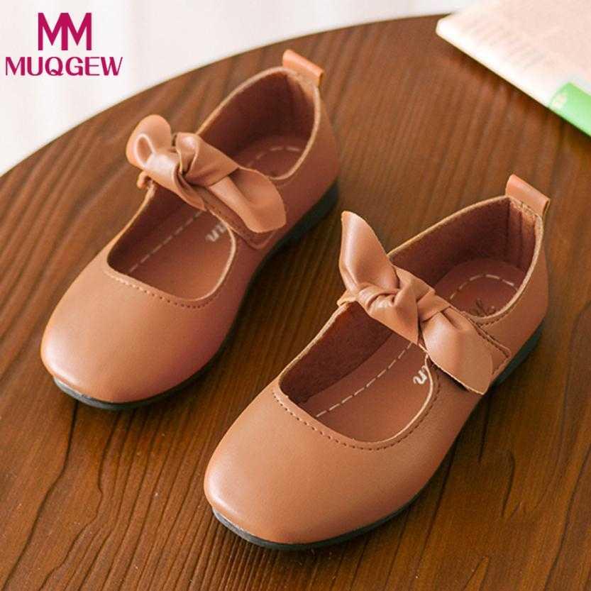 7f5507b9 Zapatos de verano para niños zapatillas de deporte para niñas zapatos de  lona princesa Bowknot baile