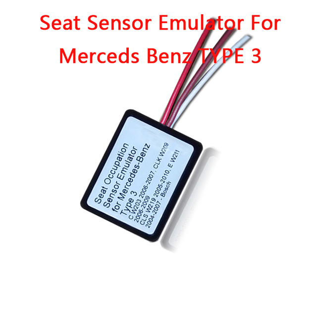 US $16 39 | MB SRS Emulator Type 3 for Mercedes benz C W203 CLK W209 CLS  W219 E W211 seat emulator Airbag reset tool-in Code Readers & Scan Tools  from