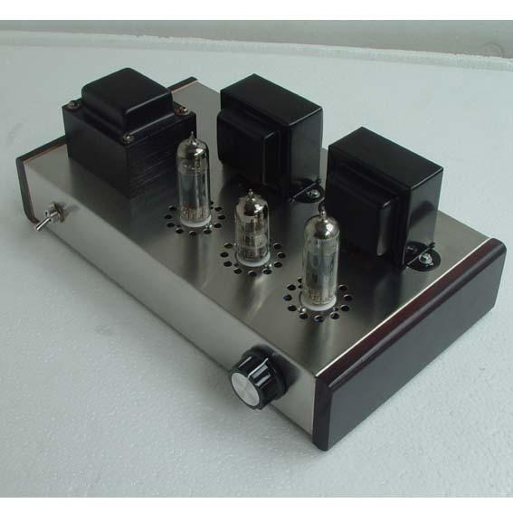 bilder für NEUE 6N2 Push 6P1 Klasse A HIFI Vakuumröhre Amp Verstärker DIY KIT
