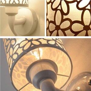 Image 2 - Lámparas de pared para interior y dormitorio, apliques de pared de estilo Simple, lámpara de cama, Luminaria creativa para escalera, sala de estar
