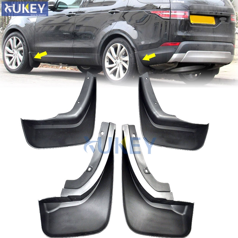 OE Styled Car Mud Flaps For Land Rover All New Discovery 5 L462 2017 2018 2019