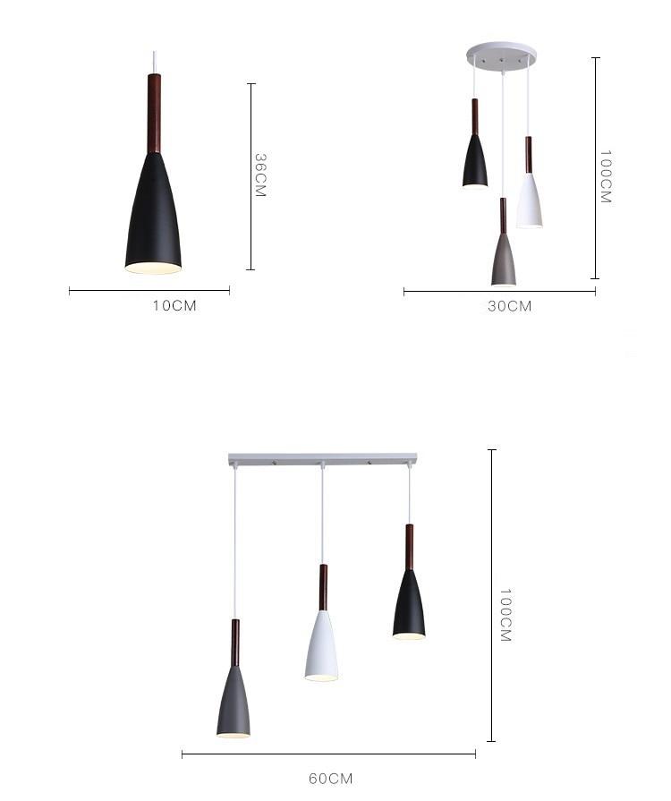 LuKLoy Modern Pendant Light Kitchen Hanging Lamp Dining Room Kitchen Lighting Fixture Loft Decor Wood Hanglamp luminaire Lustre (14)