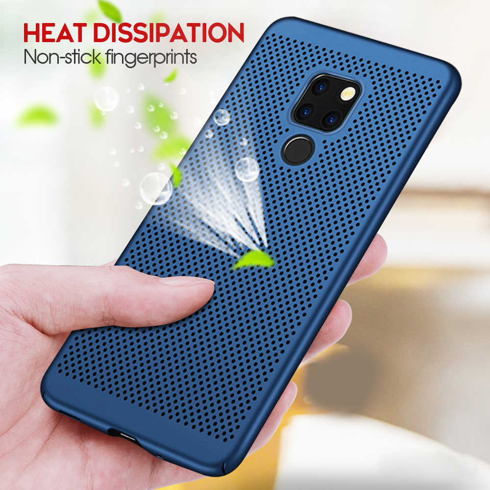 New Heat Dissipation Case For Huawei P30 Pro P20 Mate 20 Lite Y9 2019 Nova 4e 3e 3i P Smart Plus Cover For Dropshipping Coque