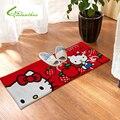 Doormat Cute 60*145 cm Hello Kitty Carpet Mats Rugs Non-Slip Carpets for Home Living Room Baby Girls Kids Room Absorbent Mats